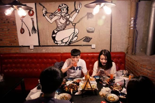 中国第一家 主题的餐厅,你敢去尝试吗
