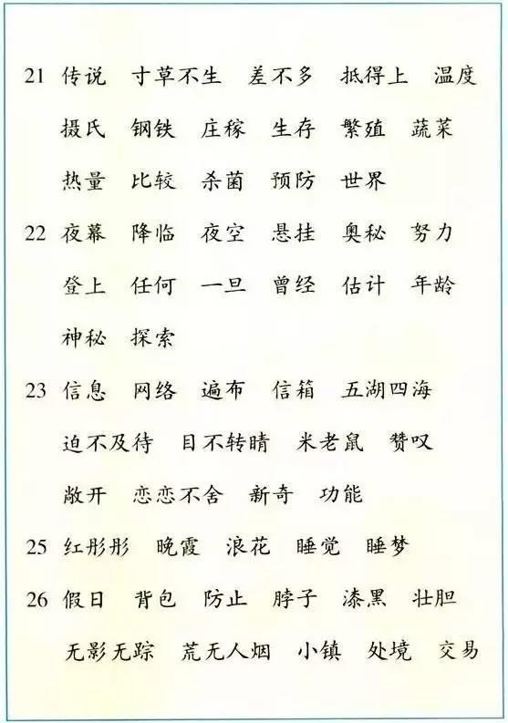每天只需三件事 语文成绩一定好(27) - 子竹 - 子竹
