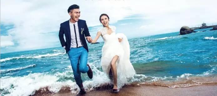 上婚纱去旅行 三亚婚纱照样片欣赏图片