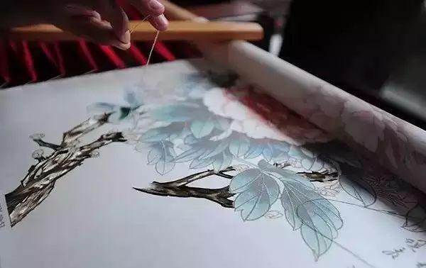 刺绣是中国民间的一种传统手工艺,-说物最美中国风 刺绣