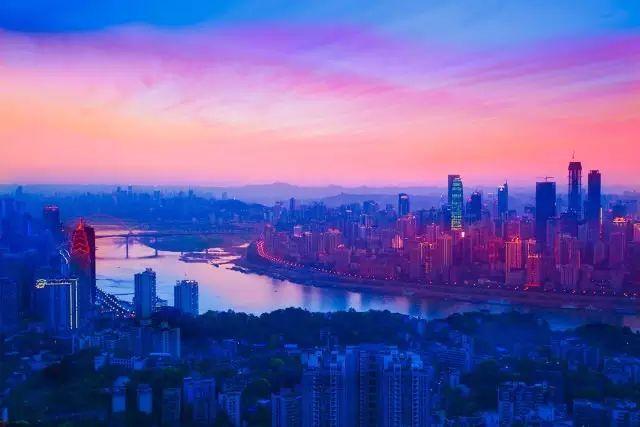 小香港 的重庆最美夜景,美得不要不要的图片