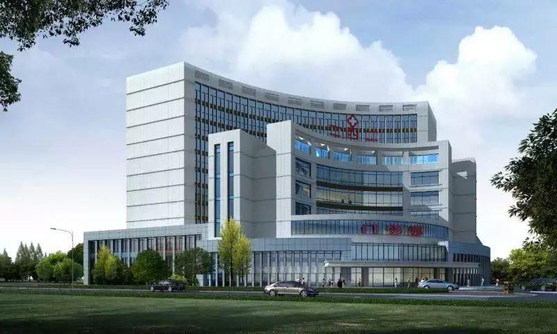 门诊大楼效果图-大型三级综合医院 沈阳二四二医院 沈阳医学院附属第