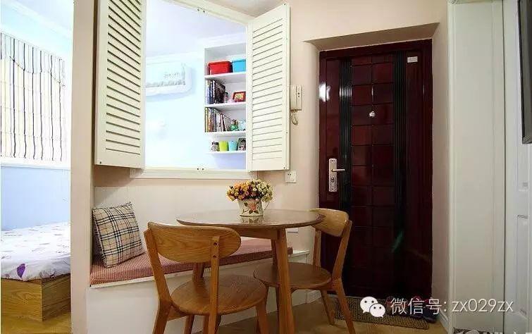 50平小户型创意装修,门厅也是客厅