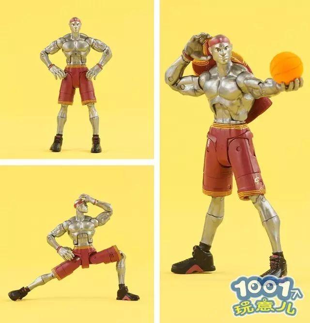 詹姆斯罗斯化身蜘蛛钢铁侠,超能力篮球有搞头