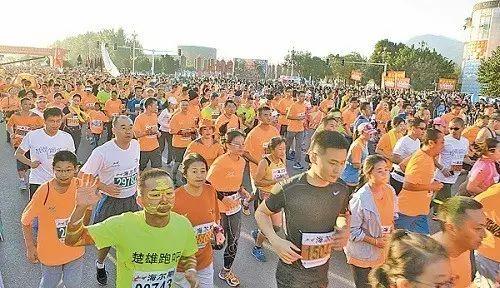 西马 2016西昌国际马拉松今日开跑