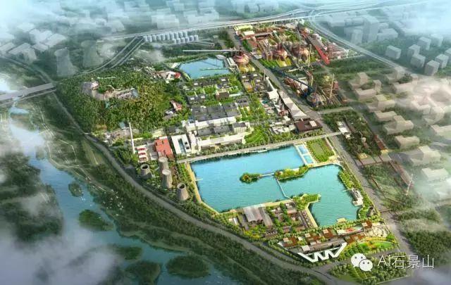 绿色石景山 曾经钢厂,如今生态园