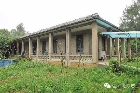 5年毛泽东视察金华农村,可能在乾西