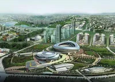大保定城市发展变风向 西城和南城要崛起 火车西站 体育新城,就连碧