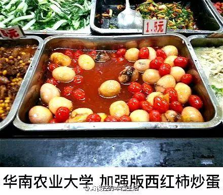 @华南农业大学-上海 大学食堂菜系 厉害上天了 快来看看有没有你学校图片