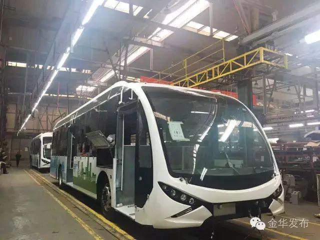 喜大普奔BRT3号线国庆前开通 金华到义乌只要10元图片