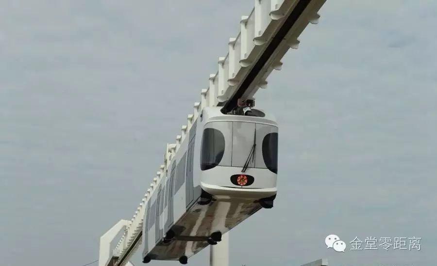 超级劲爆 金堂交通 十三五 规划出炉,未来将建4条悬挂式单轨列车路线