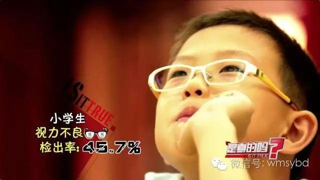 孩子越戴眼镜越近视 你又被骗了多少年