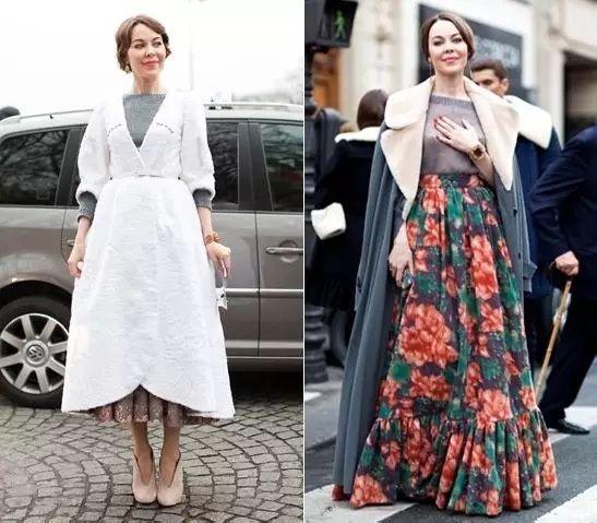 不仅是街拍客 会穿不算啥,她设计的衣服美炸了图片