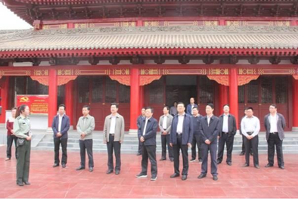 静宁界石铺红军长征毛泽东旧居纪念馆调研图片